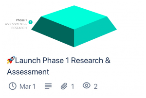 Trello Card Preview of Phase 1 SEO Assessment & Research